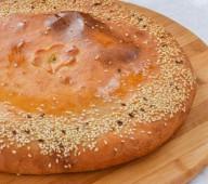 Татарский пирог с судаком и сливками, 1кг.