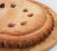 Пирог с брусникой и клюквой, 1кг.