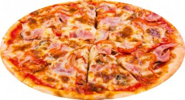 Пицца Полоэ-панчеттэ, 475 гр.