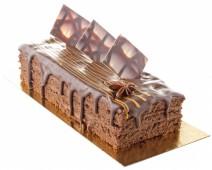 Торт-конфета Маракуйя в шоколаде