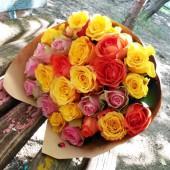 Букет из  27 роз