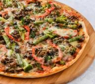 Пицца овощная, 600 гр.