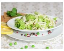 Салат с кальмарами (Диета)