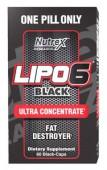 Lipo-6 Black Ultra Concentrate Nutrex