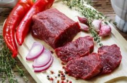 Маринад из внутренней говяжьей вырезки/1 кг.