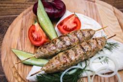Шампур люля-кебаб из курицы