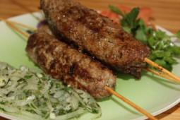 Шампур люля-кебаб из баранины