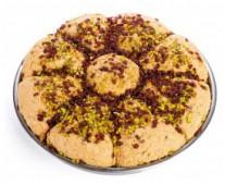 Халва арахисовая с грецким орехом и шоколадом