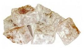 Рахат-лукум шоколадный с фундуком в кокосовой стружке