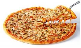 Пицца Грибная, 1 кусок