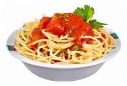 Спагетти с соусом рагу, 100 гр.