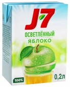 Сок J7 яблочный 0,2 л